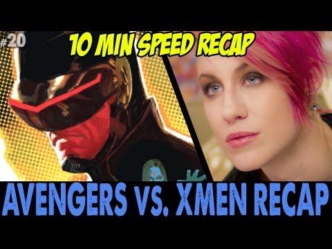 Ep20. Avengers vs Xmen Full Recap in 10 mins + Full Review & Commentary by CBG19.