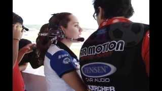 CONOCIENDO A: Mariana Rovelo, Spoter NASCAR