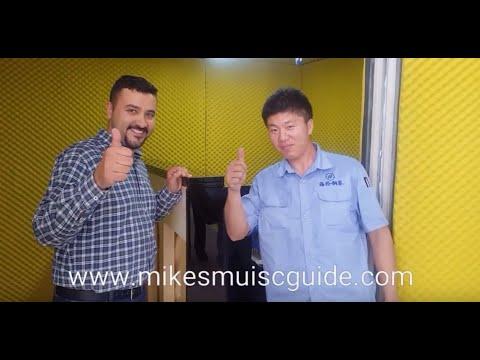 2nd Hailun Piano Factory Tour - Yingkou - China