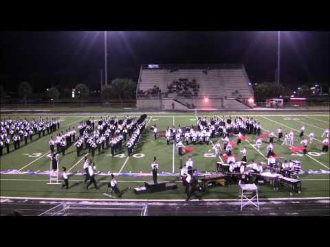Viera High School Marching Band - MPA - 22 Oct 2011