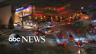 Urgent manhunt for suspect who killed teen at a mall