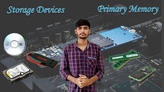 Primary Memory/Storage Devices