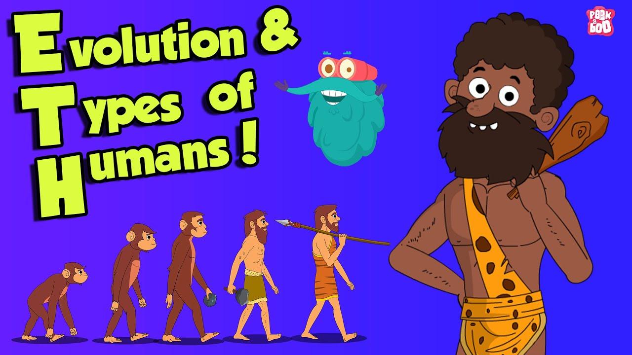 Download What Is Evolution & types of HUMANS | Dr Binocs Show | Peekaboo Kidz