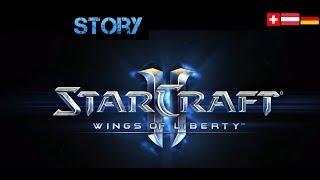 StarCraft II - die Story von Wings of Liberty mit allen Zwischensequenzen