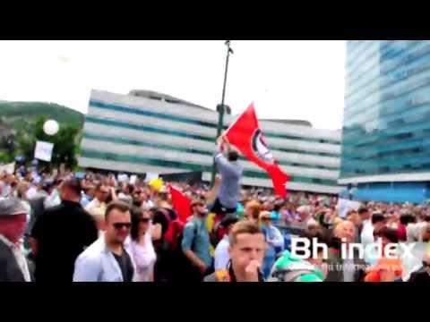 Sarajevo protest 11.6.2013.