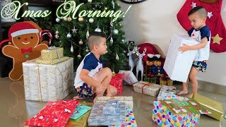 CHRISTMAS MORNING!! Calvin Kaison Opening Presents 2019 CKN Toys