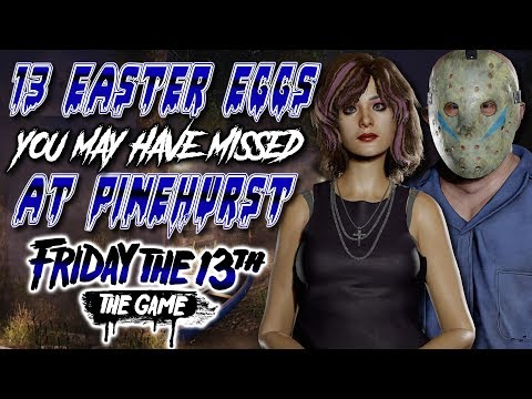 13 Easter Eggs You May Have Missed at PINEHURST! | Friday the 13th: The Game