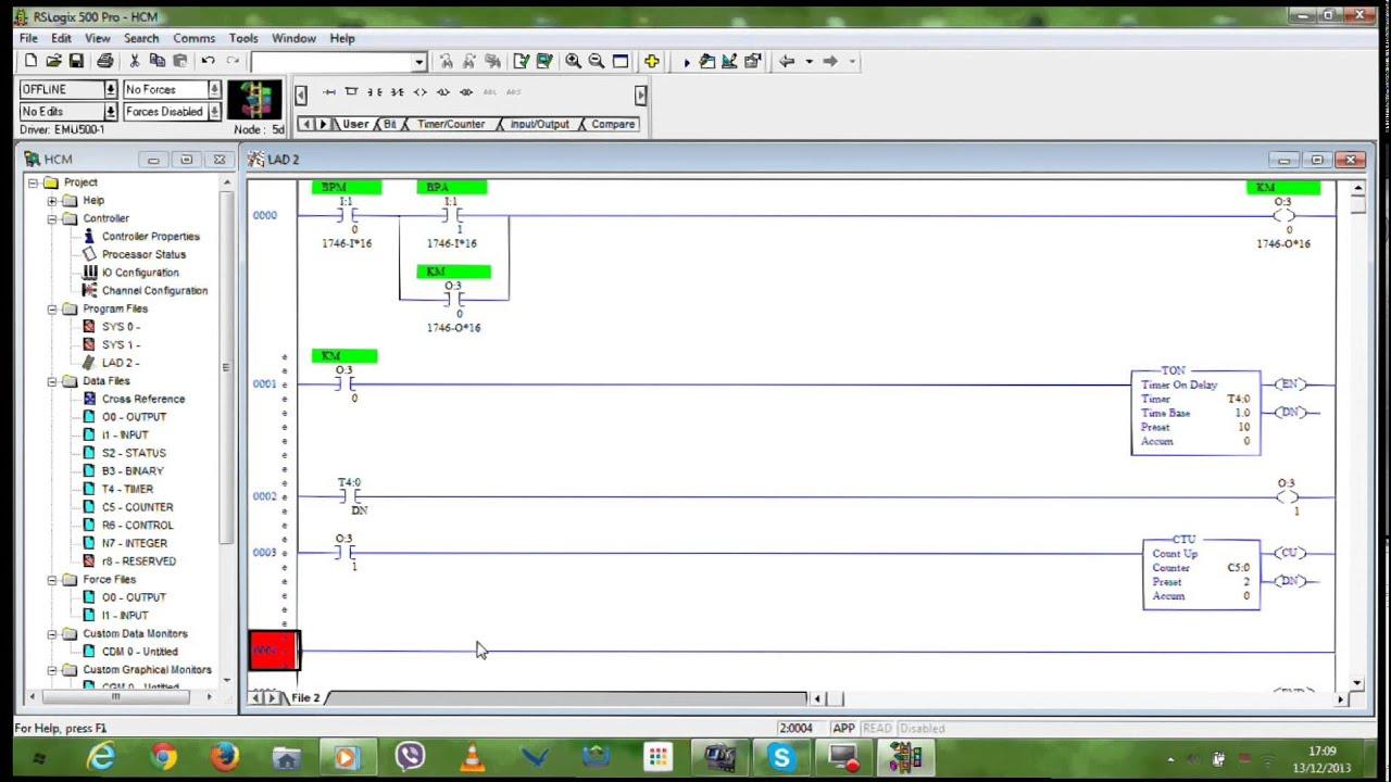 logiciel rslogix 500