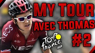 TOUR DE FRANCE 2020 - MY TOUR AVEC GERAINT THOMAS #2