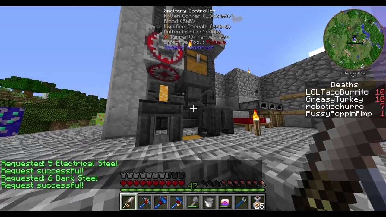 Minecraft: FTB Infinity Evolved Expert Mode 18 - TIER 2 JETPACK ...