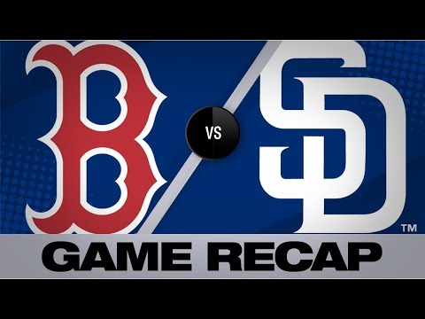 Martinez's 7 RBIs fuel 11-0 win for Red Sox | Red Sox-Padres Game Highlights 8/23/19