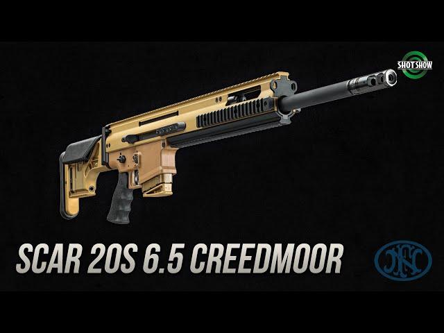 FN SCAR 20s 6.5 Creedmoor - SHOT Show 2020