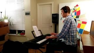 Parisian Thoroughfare (Bud Powell) Geoff Peters solo jazz piano performance Yamaha P-35