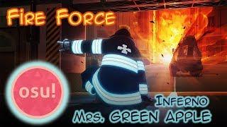 Gambar cover 「osu!mania」Inferno - Mrs. GREEN APPLE