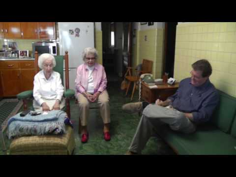 Gramma and Ginga talk to The Dominion Post 7-10-17