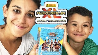 MEGA SPACCHETTAMENTO BOX ADRENALYN XL 2018/2019 - CALCIATORI PANINI