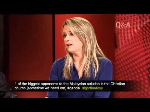 Kristina Keneally discusses asylum seekers