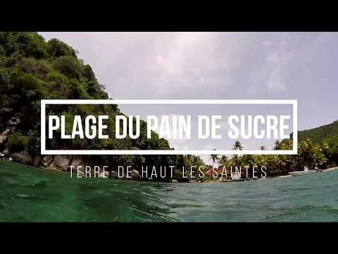 Plage du Pain de Sucre Terre de haut les saintes Guadeloupe