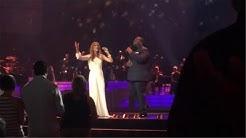 【CelineDionCn】独家 Celine Dion Incredible with Barnev Valsaint  Celine show Caesars Palace 2014