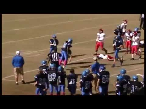 2015 Rehobeth Middle School Football 10 8 2015