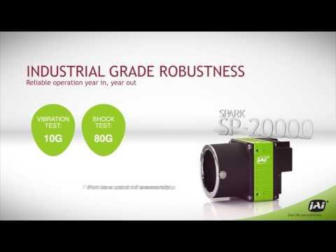 Spark Series high-speed 20-megapixel industrial camera