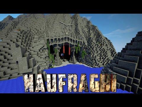 """NAUFRAGHI EP.3 - Minecraft - """"IL DUNGEON SEGRETO"""""""