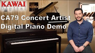 Kawai CA79 Concert Artist Digital Piano - Features and Sound Demo