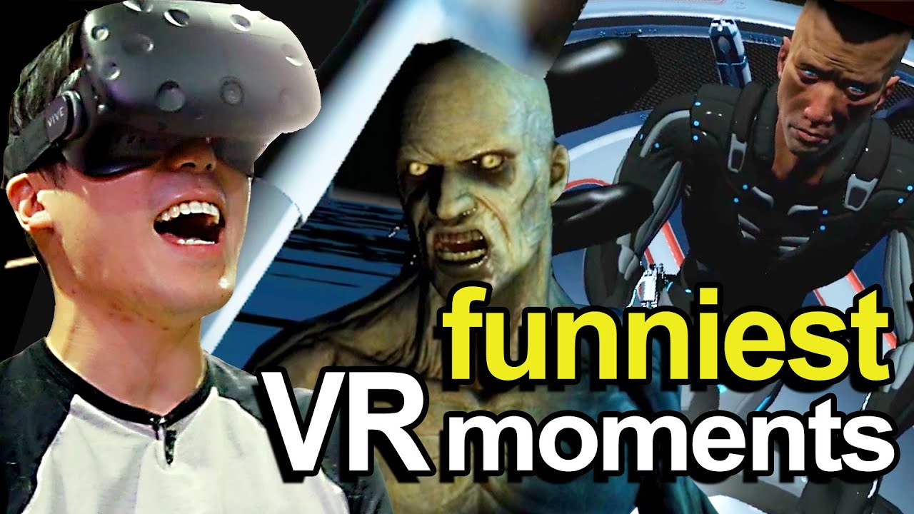 Funniest Vr Moments Youtube