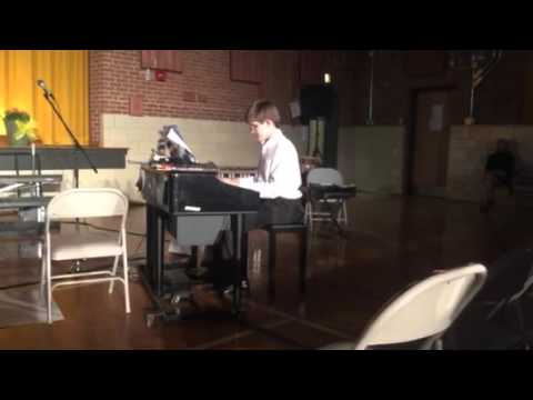 Prelude No. 6 by Frederic Chopin - Played at The Maryland School for the Blind (Tyler Shallue, Piano