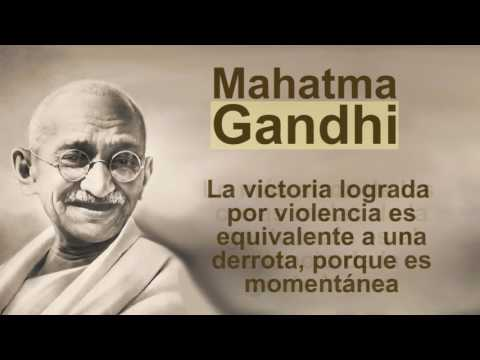 Frases De Paz Gandhi Youtube