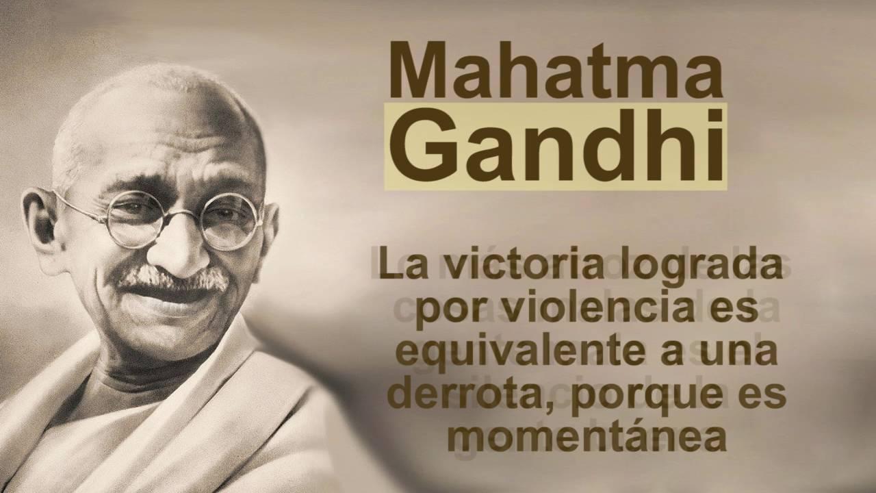 Frases De Paz Gandhi