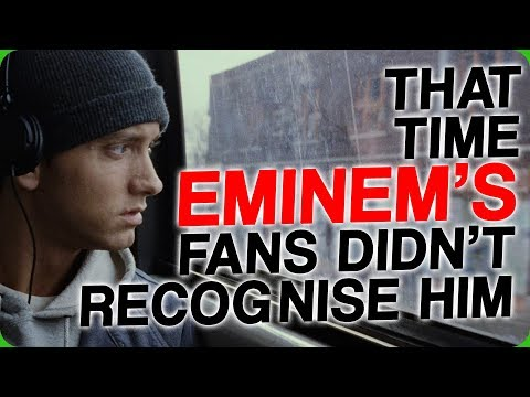 That Time Eminem's Fans Didn't Recognise Him (Born in the Wrong Decade)