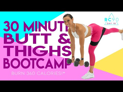 30 Minute Butt and Thighs Bootcamp Workout ��Burn 360 Calories!* ��Sydney Cummings