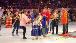 Crowning Miss Indian World 2018 - Gathering Of Nations | Albuquerque New Mexico