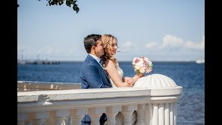 Русско-Колумбийская свадьба. Прогулка по красивым местам Петергофа