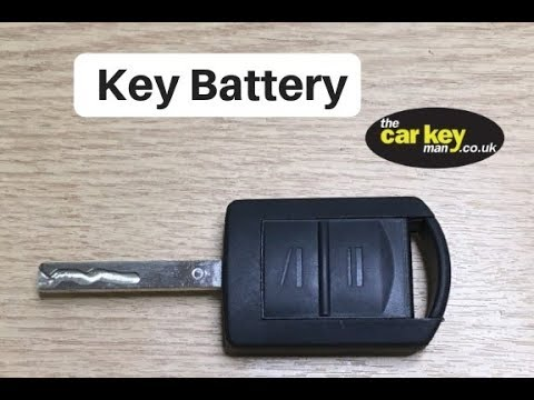 vauxhall opel corsa combo key battery change youtube. Black Bedroom Furniture Sets. Home Design Ideas