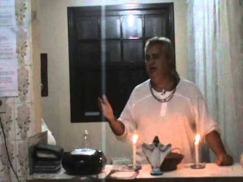 TEMPLO DE UMBANDA CABOCLO SETE FLECHAS - PALESTRA DR. TOM 28/01/2015