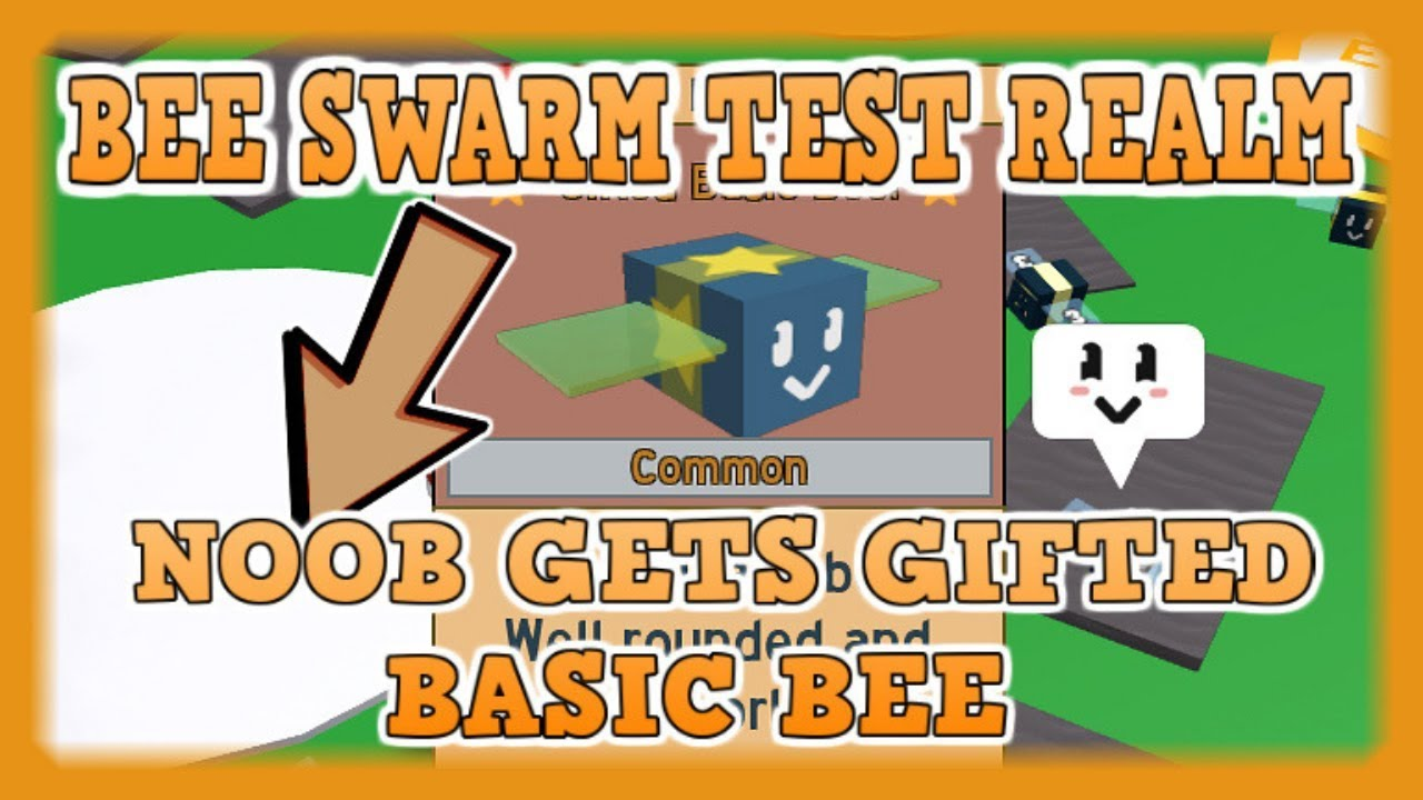 Bee Swarm Simulator Noob To Pro Noob With Gifted Bee Codes