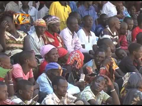 President Uhuru Kenyatta starts his 4 day tour of Coast region