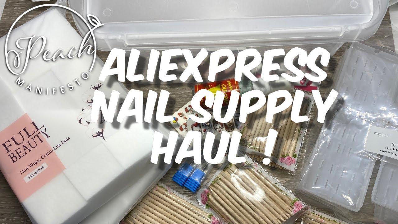 Aliexpress Nail Supplies Haul !