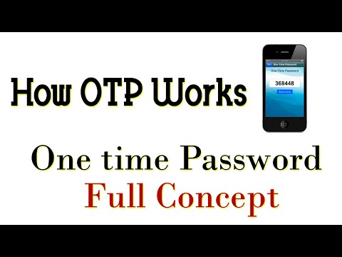 How OTP works | One time password