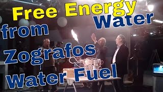 Free Energy Generator from Water - Petros Zografos at Yellow Journalism TV Show