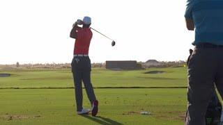 Tiger Woods' swing from 1993-2016