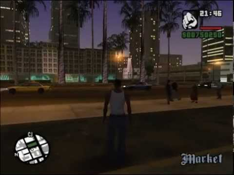 GTA San Andreas Super Speed Running Mod
