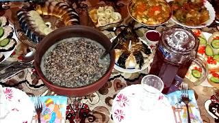 Салат с Грибами на Скорую Руку. Что я готовила на Святой Вечер 12 Постных Блюд. С Рождеством!