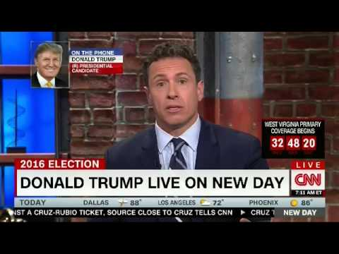 Donald Trump full interview with Chris Cuomo on CNN (05/09/2016)