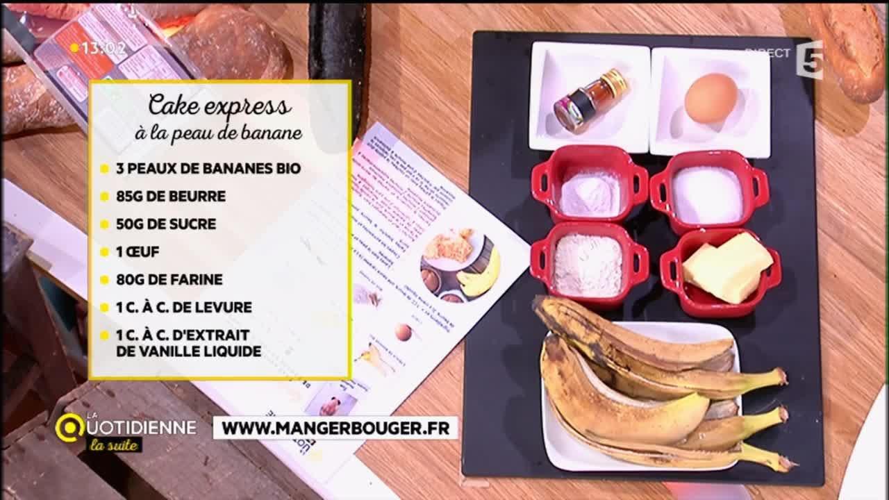Cake Express A La Peau De Banane