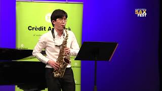 DONGGUN SONG – 1st ROUND – III ANDORRA INTERNATIONAL SAXOPHONE COMPETITION 2016