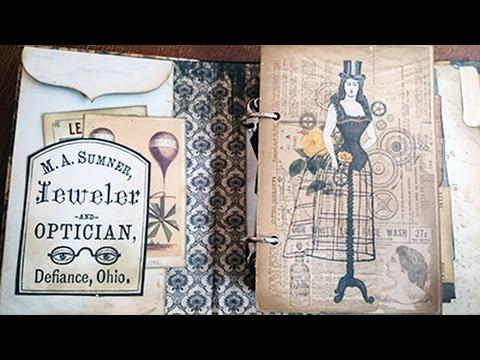 DIY: Timekeeper Steampunk Album