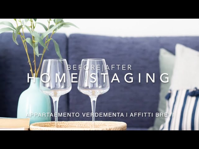 VERDEMENTA | Prima e dopo di un servizio di home staging per affitti brevi